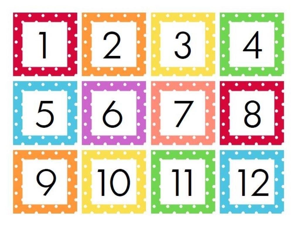 Free Printable Calendar Numbers 1 31 In 2021 | Printable