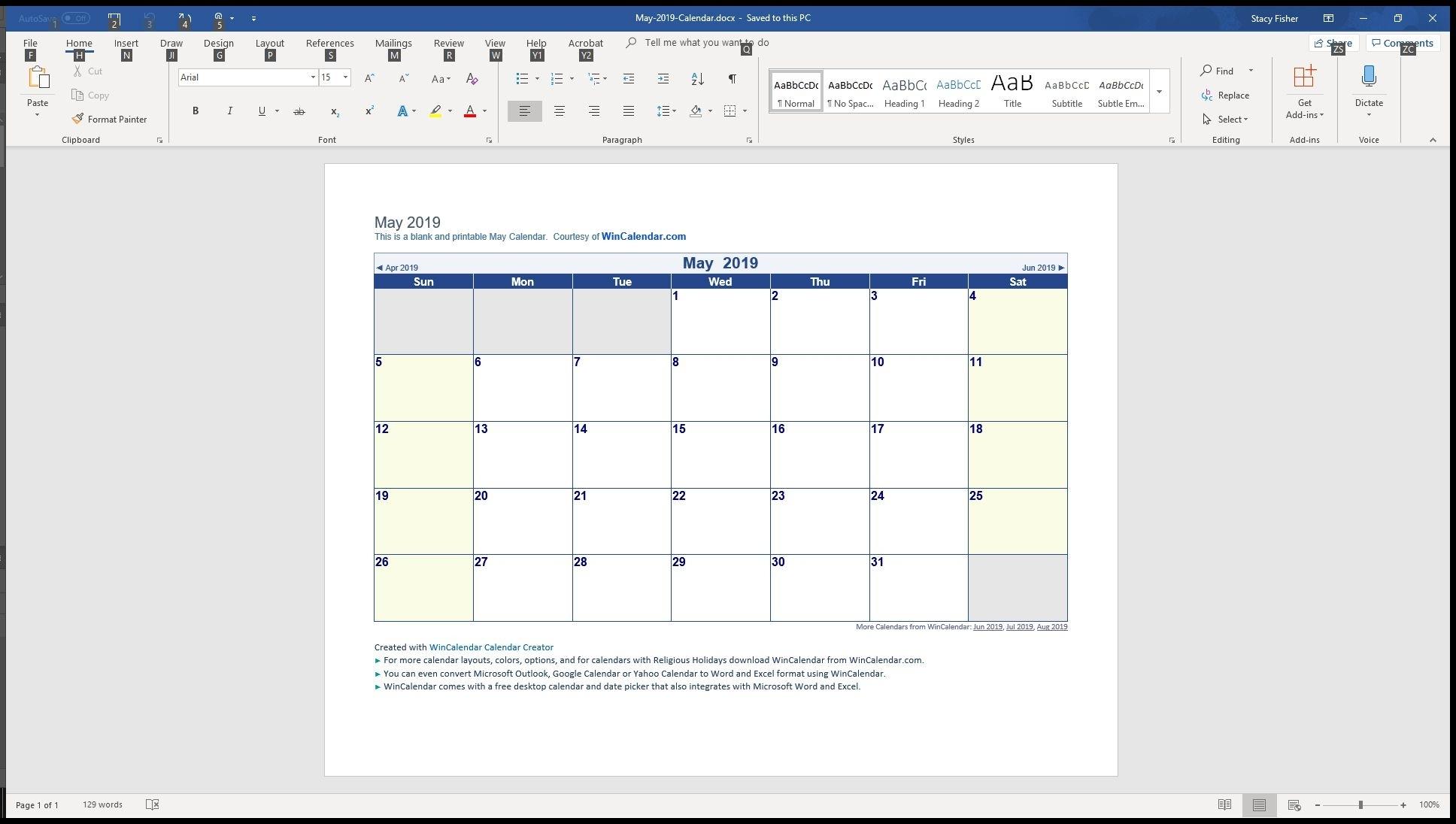 Free Printable Calendar You Can Type In   Ten Free