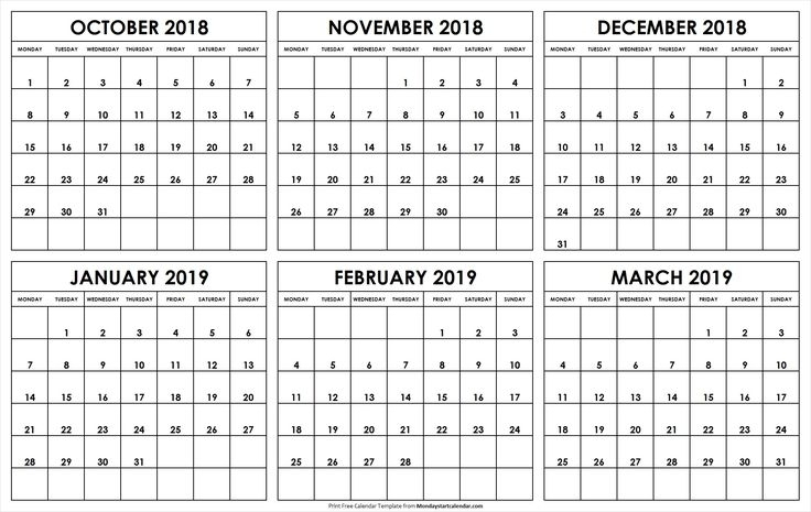 Free Printable Calendars That You Can Type In   Ten Free