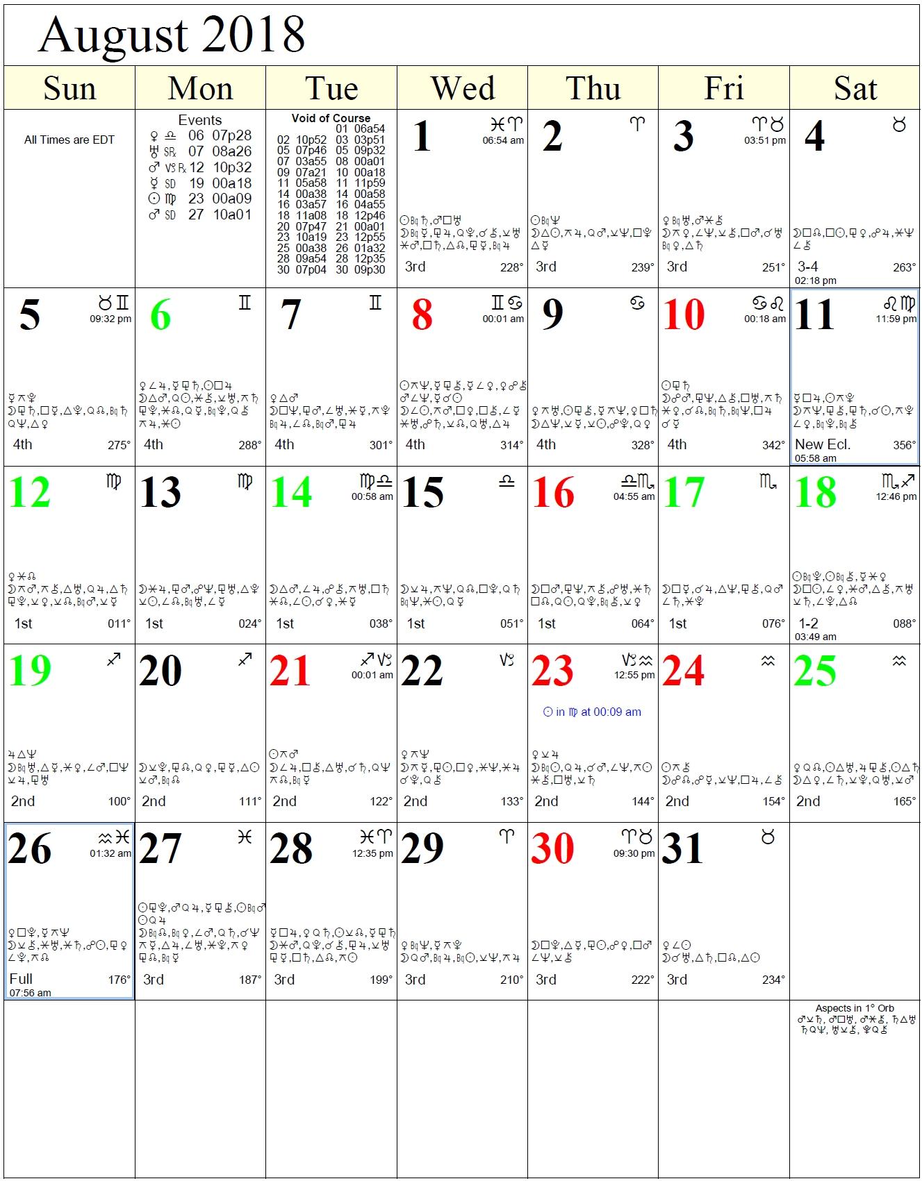 Lunar Calendar With Zodiac   Ten Free Printable Calendar