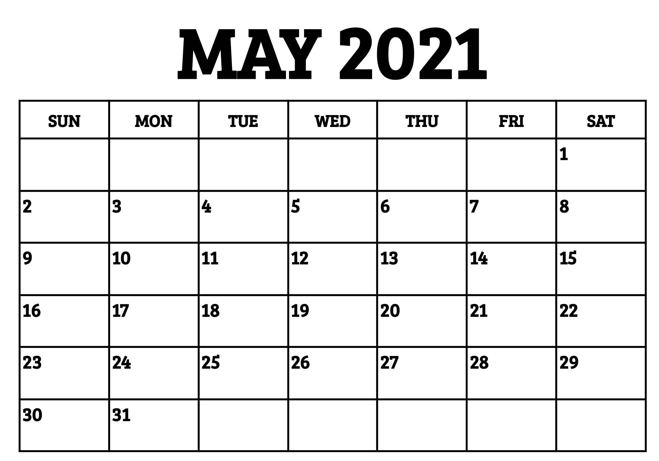 May 2021 Calendar Australia Excel Holidays Month - My Blog