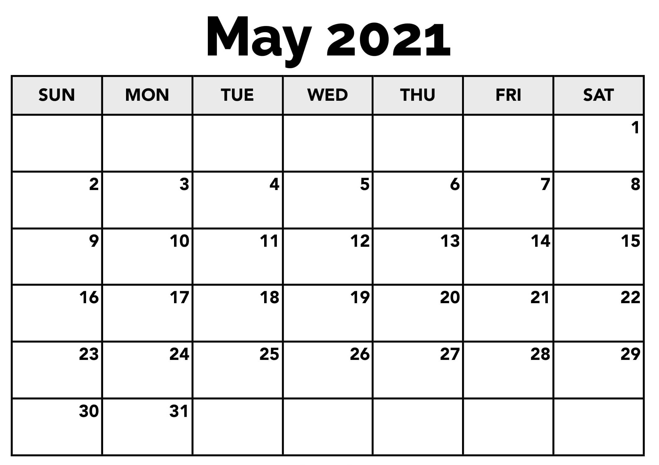 May 2021 Calendar Nz Templates With Holidays - One