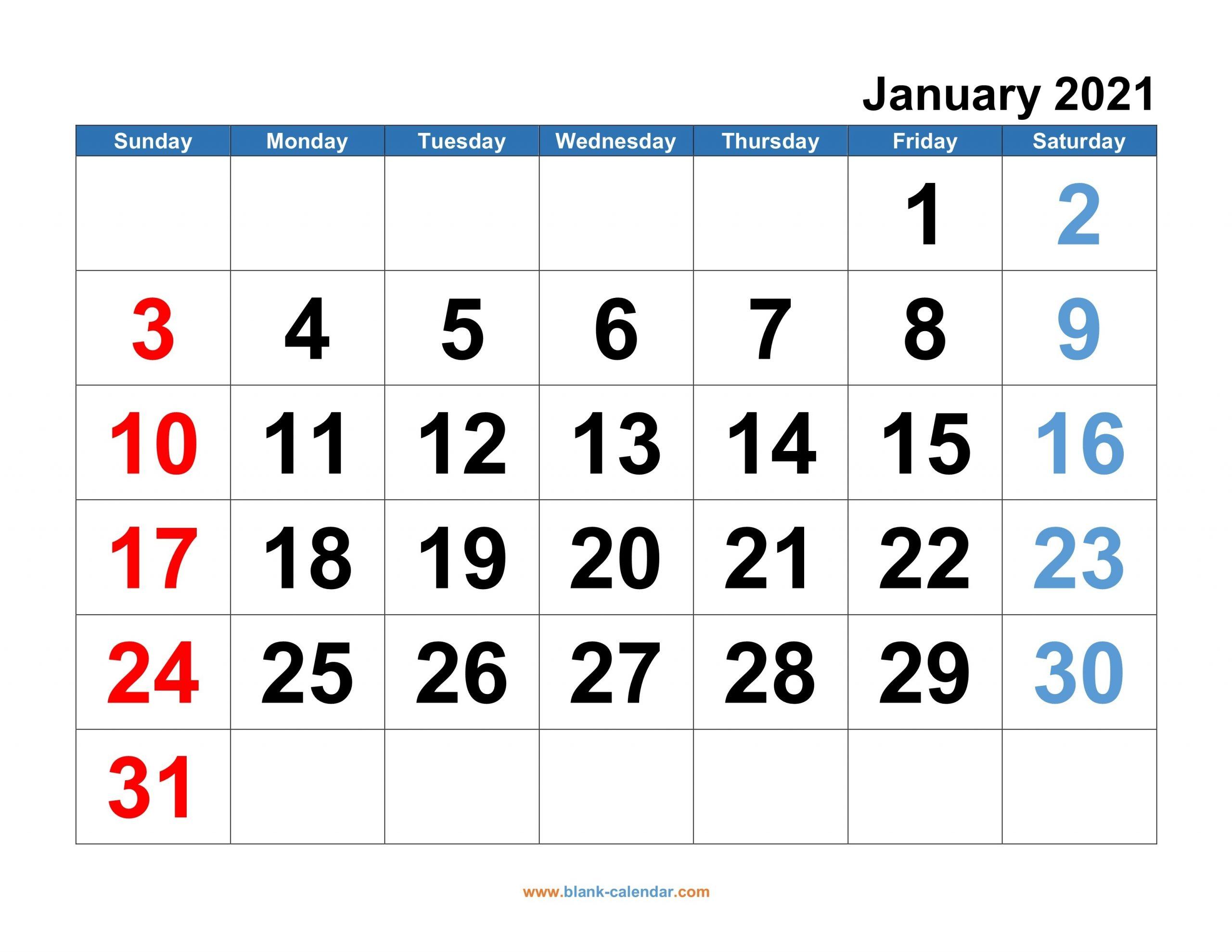 Microsoft Calendar Templates 2021 2 Page Per Month