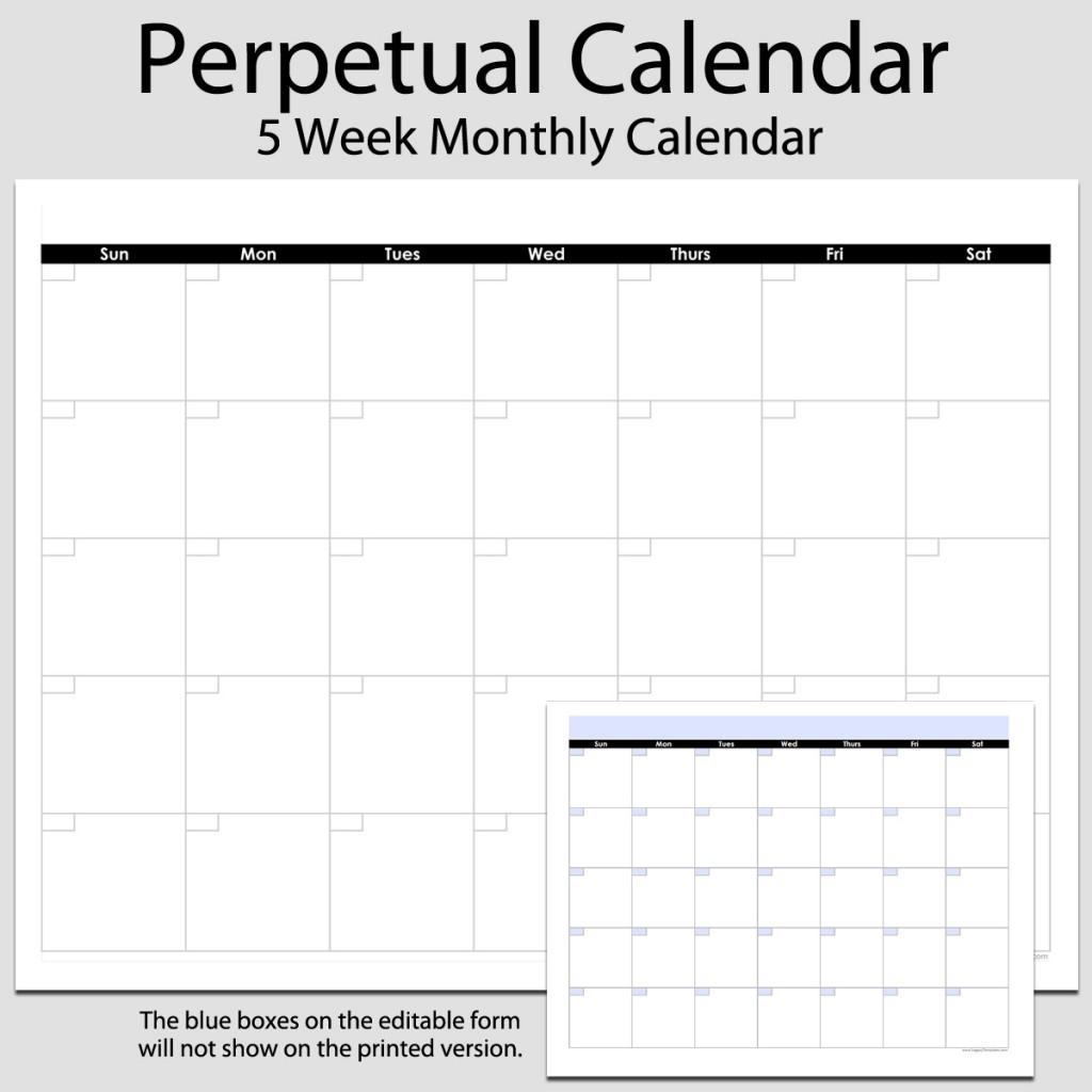 Free Calendar Templates In Landscape Print Mode