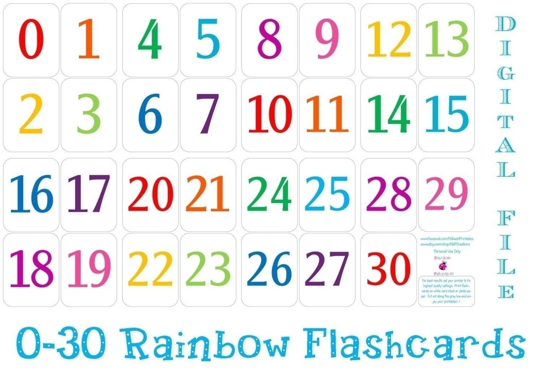 Numbers For Calendar Printables | Calendar Ideas Design