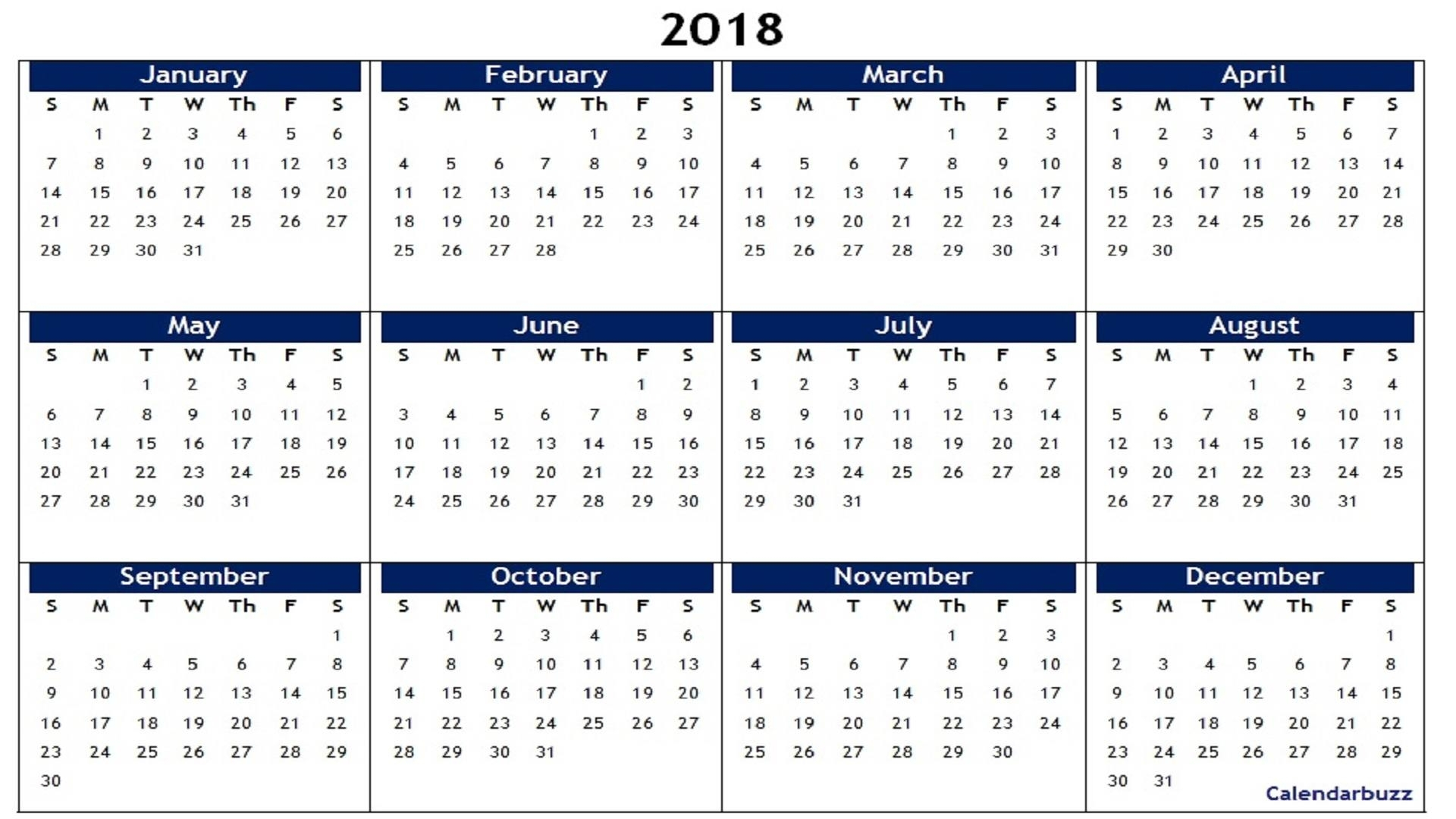 Printable Calendar Large Boxes Landscape   Month Calendar Printable