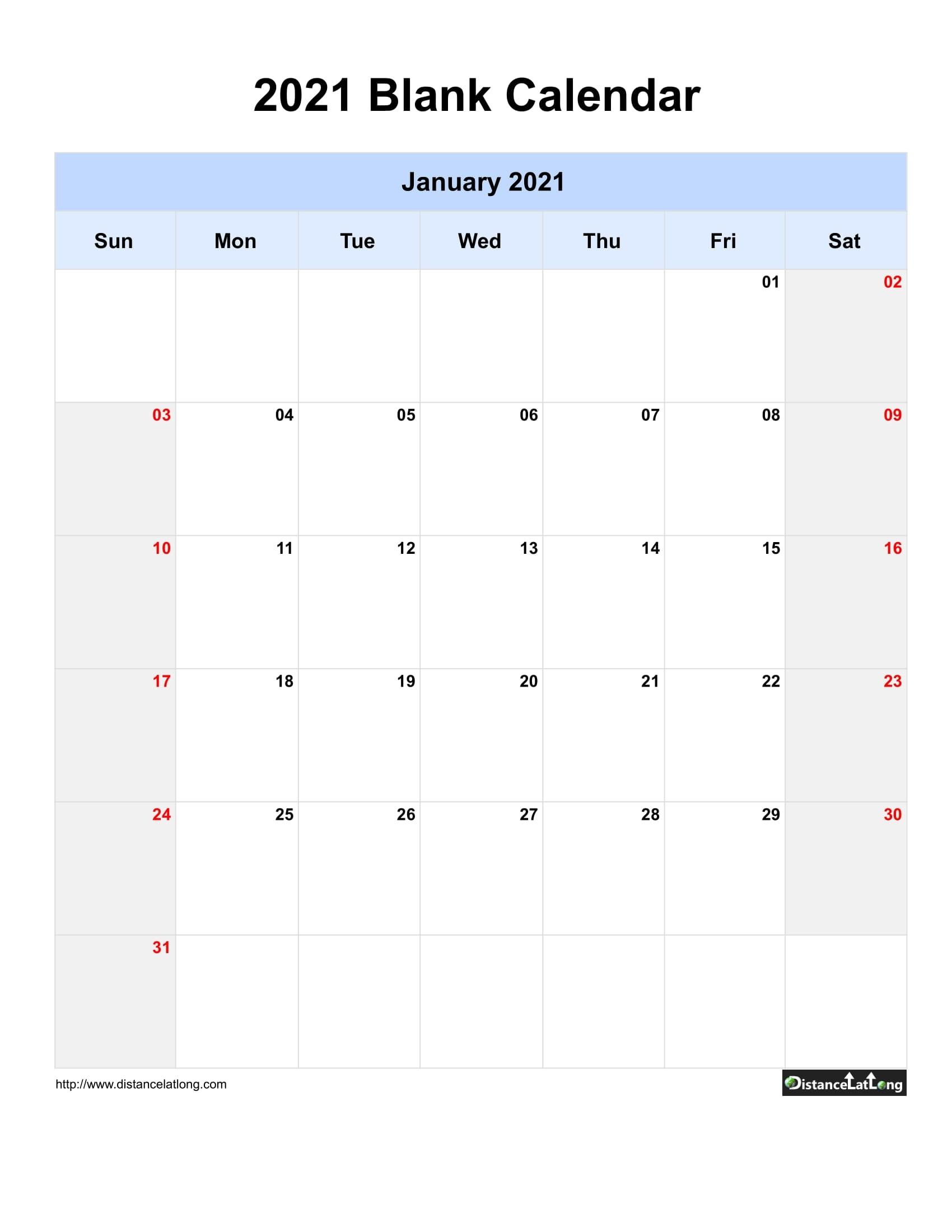 Printable Saturdays Of 201 And 2021 | Ten Free Printable