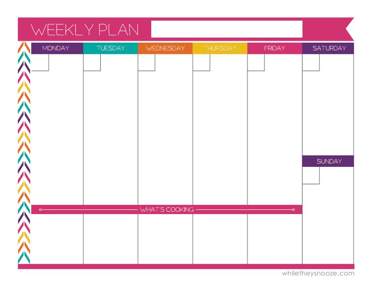 The 25+ Best Weekly Planner Ideas On Pinterest | Weekly