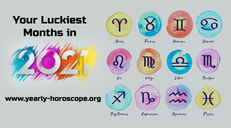 Your Luckiest Months In 2021 Based On Your Zodiac Sign