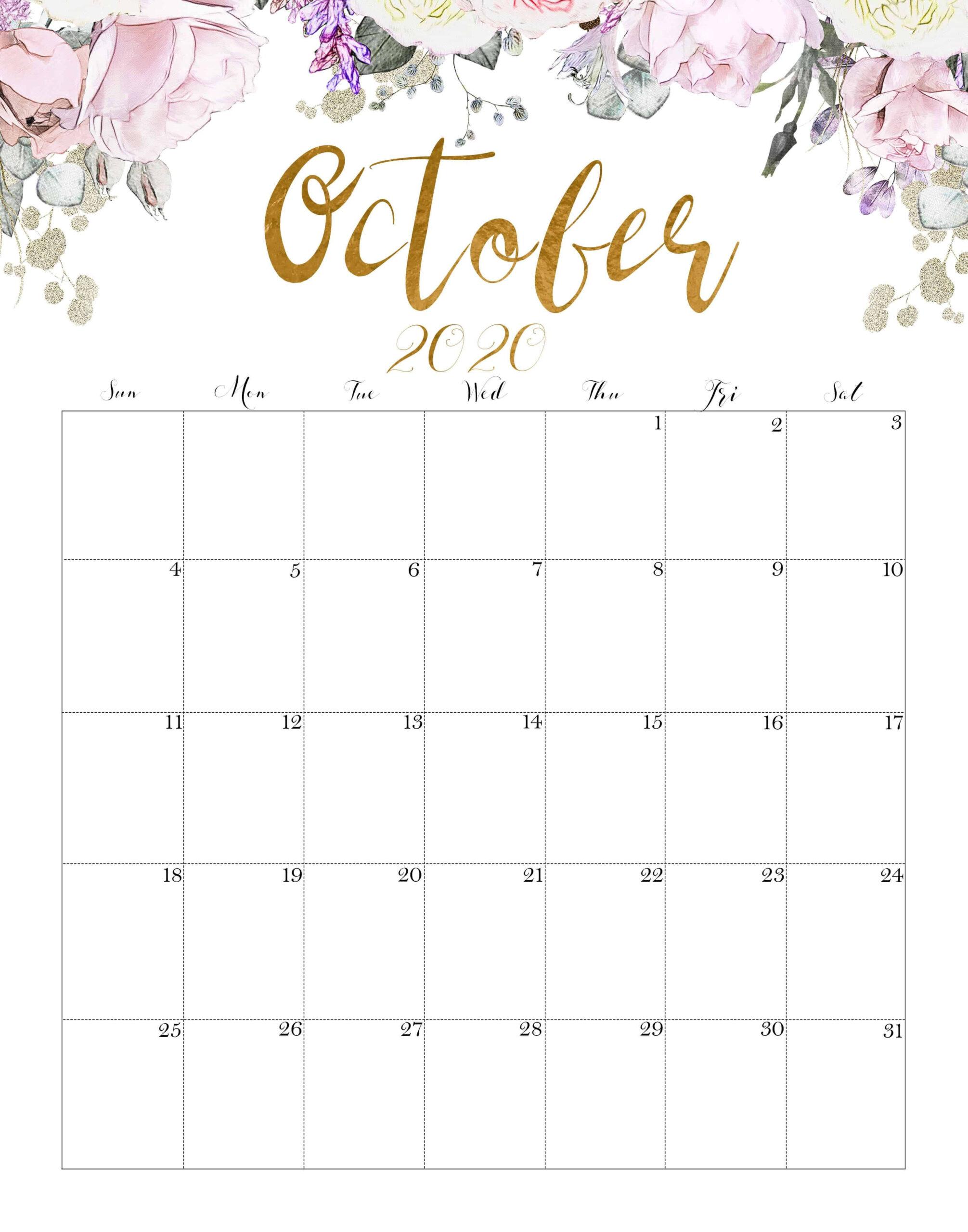 2021 Calendar Printable Designs June-December